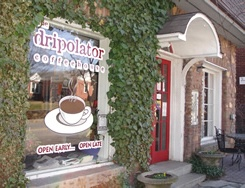 Dripolator Coffee Housein downtown Black Mountain NC