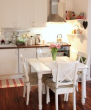 Federica Piccinini's cottage kitchen