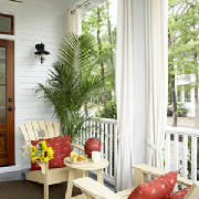 Classic covered porch for cottage living