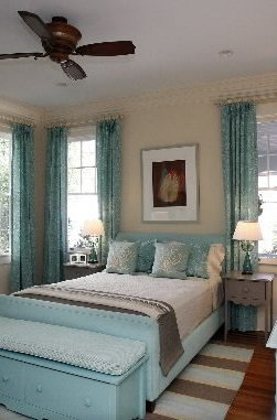 cottage style bedroom by Maine Cottage