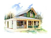 Willow Cottage plans